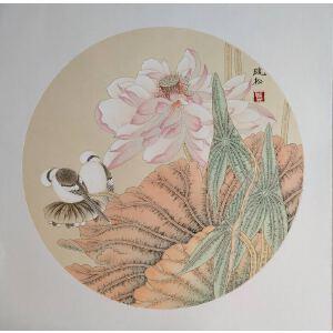 莫晓松 当代著名画家 写意画作品