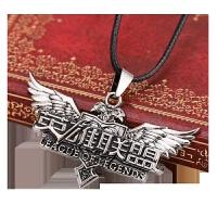 钥匙挂件 LOL周边模型金克丝蕾欧娜兵鸟盾牌钥匙扣挂件项链饰