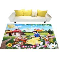 3D印花儿童地毯客厅茶几沙发地毯卧室床边毯厨房门厅防滑地毯地垫y