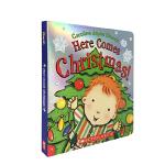 英文原版 Here Comes Christmas! 诞节来了 纸板书