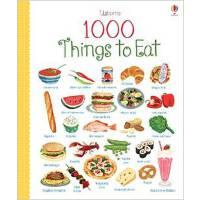 【现货】英文原版 1000 Things to Eat 一千种食物 全彩印刷认知大书 精装 4岁以上 usborne