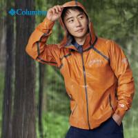 Columbia哥伦比亚户外2019新款春夏黄轩同款男士防雨冲锋衣WE0936