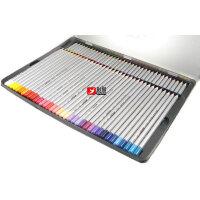 1MARCO 马可7100-72TN彩色油性铅笔 马可彩铅 72色铁盒装 可画秘密花园和飞鸟等入门手绘涂色书本