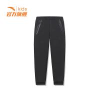 安踏童装男童针织长裤儿童运动裤休闲裤子35917777