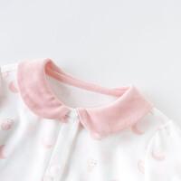 davebella戴维贝拉2020春季新款女童家居服宝宝内衣套装DBH12501