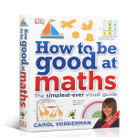 DK儿童stem创新思维培养 图解数学英文原版 How to be Good at Maths 数学思维 精装教辅书7