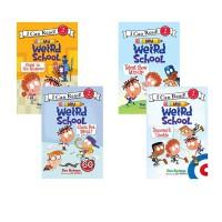 【全店满300减80】疯狂学校 My Weird School 4册 分级读物 英文原版 I Can Read 第二2阶段  儿童生活趣味图画故事书