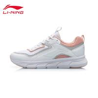 李宁跑步鞋女鞋2019新款早晨跑鞋夏季透气轻便休闲舒适低帮运动鞋