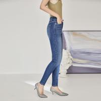 网易严选 女士基础修身牛仔裤 简约百搭 有型舒适有弹力