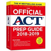 正版 新东方2018-2019年ACT考试官方指南 ACT OG ACT官方指南 ACT考试模拟题 ACT真题高分词汇