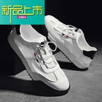 新品上市男士小白鞋18新款运动休闲鞋韩版网面透气男鞋薄款夏季板鞋
