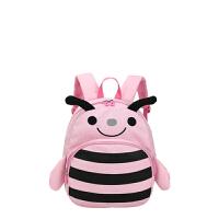 【限时1件5折】卡拉羊儿童背包书包双肩包小背包3-6岁幼童男女可爱小蜜蜂C6017
