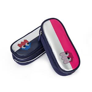 卡拉羊儿童笔袋多功能大容量卡通文具盒包男女小学生铅笔袋CX047