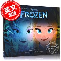 预售 冰雪奇缘1 英文原版电影艺术画册设定集 The Art of Frozen 进口图书 精装书 迪斯尼出品 Dis