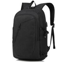 男士双肩包新款牛津布旅行背包usb充电笔记本包.6寸韩版潮