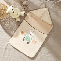 包被四季空调房宝宝睡袋春秋婴儿抱被夏季薄款棉