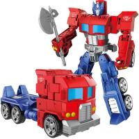 变形金刚擎天柱手动玩具合金机器人儿童男孩飞机坦克汽车战士模型
