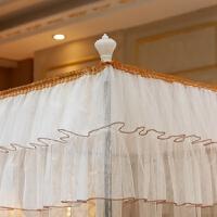 公主风不锈钢支架三开门落地1.8m宫廷蚊帐1.5米床上用品夏季双人