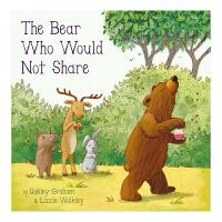 The Bear Who Would Not Share 不会分享的熊 儿童情商英语绘本 学会分享 英文原版书进口