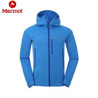 Marmot/土拨鼠新款户外男士夹克防泼水弹力透气M3软壳衣