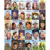 【现货合售】进口英文原版儿童书 Who Was 名家人物 、人文史地传记 30册系列合辑套装 中小学生英语课外阅读(注:
