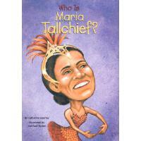 [现货]英文原版 Who is Maria Tallchief? 谁是玛丽亚 (Who Was...?)
