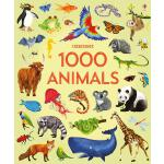 英文原版 Usborne 1000种动物 精装大开本 儿童启蒙认知书 1000 Animals