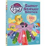 小马宝莉场景贴纸书 Super Sticker Scenes 1001 Stickers 边玩边学 成长亲子故事书 1