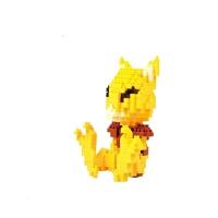 神奇宝贝精灵小颗粒积木玩具 实拍兼容乐高拼插积木创意礼物