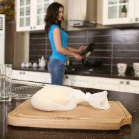 �瓷 硅�z和面袋 揉面袋 做果汁菜泥 腌肉保�r