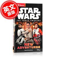 现货 英文原版Star Wars: The Force Awakens儿童读物DK星球大战