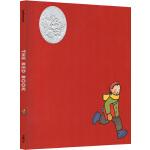 英文原版绘本 The Red Book 小红书 红色的书 凯迪克大奖 Barbara Lehman 精装 儿童友谊绘本