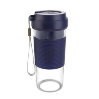 德国海牌榨汁机便携式榨汁杯家用小型电动果汁机迷你全自动炸汁机 蓝色