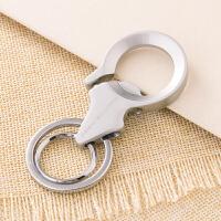 男士腰挂钥匙扣 创意汽车钥匙链挂件双圈金属钥匙圈