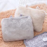 热水袋充电毛绒可爱小耳朵电暖宝宝小清新暖手宝礼物
