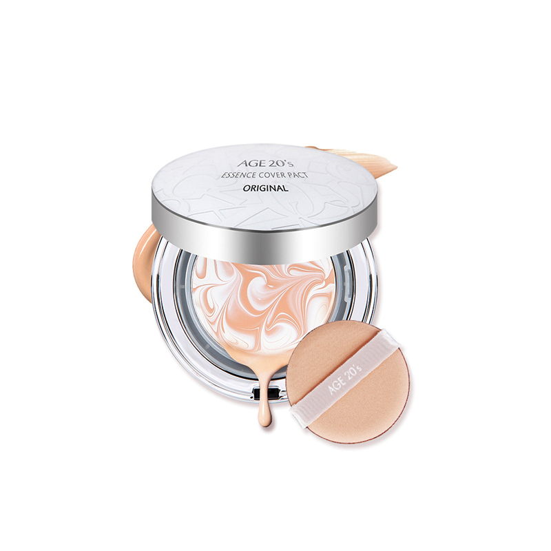 AGE20's 韩国 爱敬 水光精华气垫粉饼 白盒23# 自然色 12.5g*2 高保精华气垫,补水和遮瑕的有效结合