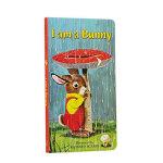 我是一只兔子进口原版 硬纸版 童趣绘本学前教育(4-6岁),Ole Risom(欧雷・里索姆),Richard Sca