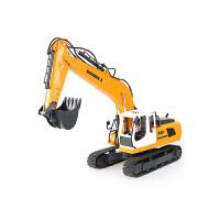 儿童挖掘机玩具车电动挖土机超大号合金遥控挖机工程车男孩