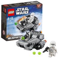 新品乐高星球大战75126 First Order雪地飞车LEGO 积木玩具