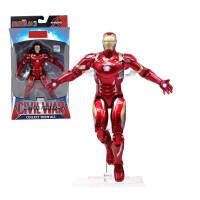 蜘蛛人玩具复仇者联盟钢铁侠美国队长蜘蛛侠绿巨人灭霸人偶玩具 .