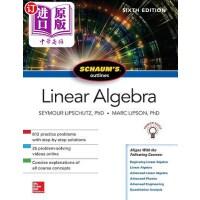【中商海外直订】Schaum's Outline of Linear Algebra