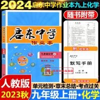 启东中学作业本九年级上化学上册人教版2021版