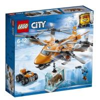 乐高城市系列 极地空中运输机60193 LEGO 积木玩具