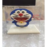 兼容乐高场景叮当猫哆啦A梦玩具积木 小颗粒益智拼接百变积木启蒙儿童男女孩儿童玩具