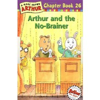 Arthur and the No-Brainer(Chapter Book 26)亚瑟小子和没头脑 ISBN 9780316121323