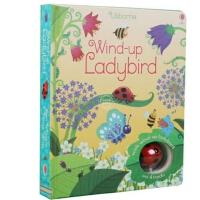 现货 英文原版 Wind-Up Ladybird 上发条的小瓢虫 Usborne 彩虹气球 轨道书 玩具书 大开本纸板