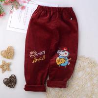 婴儿罩裤可套冬季单层宝宝薄款高弹力外穿女婴儿棉裤弹力牛仔大童