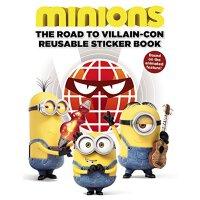 Minions: The Road to Villain-Con: Reusable Sticker Book 小黄人贴纸书