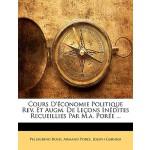 【预订】Cours D'Economie Politique REV. Et Augm. de Lecons Ined