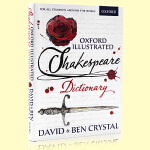 牛津莎士比亚彩色插图词典 Oxford Illustrated Shakespeare Dictionary 英文原版